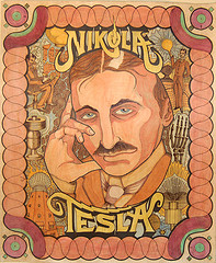ο κος NIkola Tesla :-) (photo by Curious Expeditions)