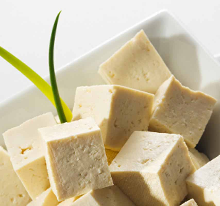 tofu cheese from soya