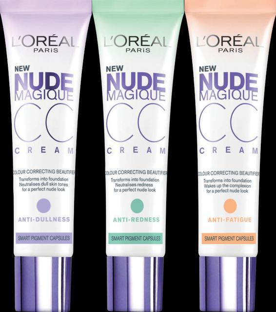 Αν έχετε κουρασμένο/θαμπό ή με κοκκινίλες δέρμα, η λύση είναι στη σωστή επιλογή μίας cc cream...;-)